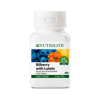 NUTRILITE™ Bilberry with Lutein 62tbl